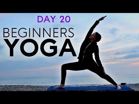 beginners yoga flow 20 min total body workout day 20