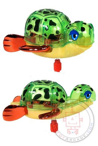 Buy Topaz the Turtle Tomy Wind Up 2010 at TinToyArcade.com
