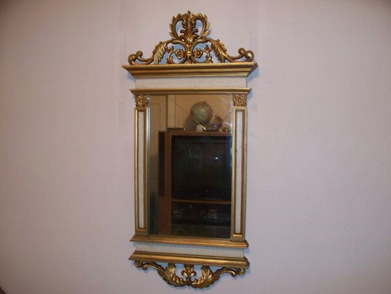 Rococo Style Gold Mirror Regal & Luxurious in Appearance