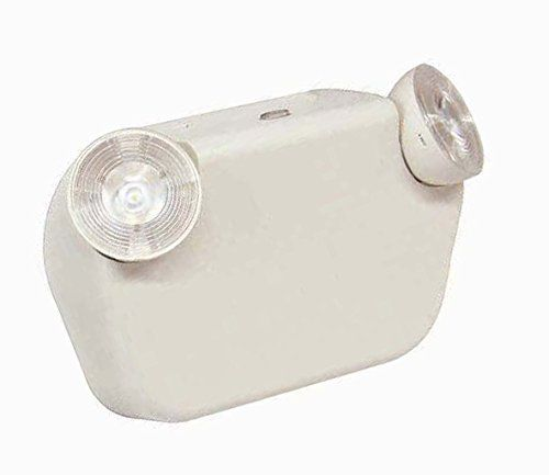 LED Two Head Decorative Emergency Light with Battery Back-up White * Check this awesome product by going to the link at the image.