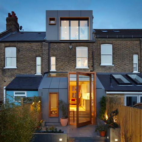 fetching home extension ideas. London House Extensions Reveal The Line Between Old And New Modern additions  roofs and roof details Pinterest