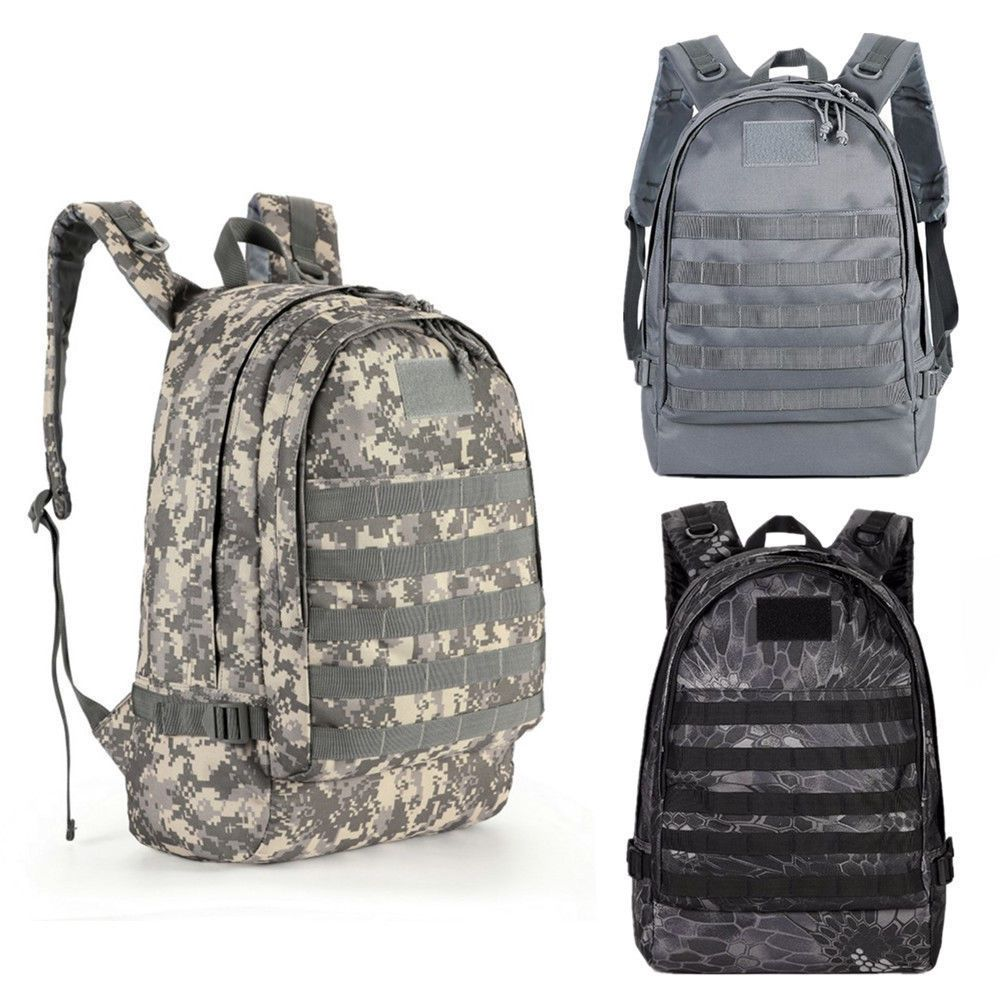 67afd9e343 Playerunknown's Battlegrounds PUBG Level 3 Backpack Game Cos Bag Military  Winner | Consolas y videojuegos, Merchandising de juegos | eBay!