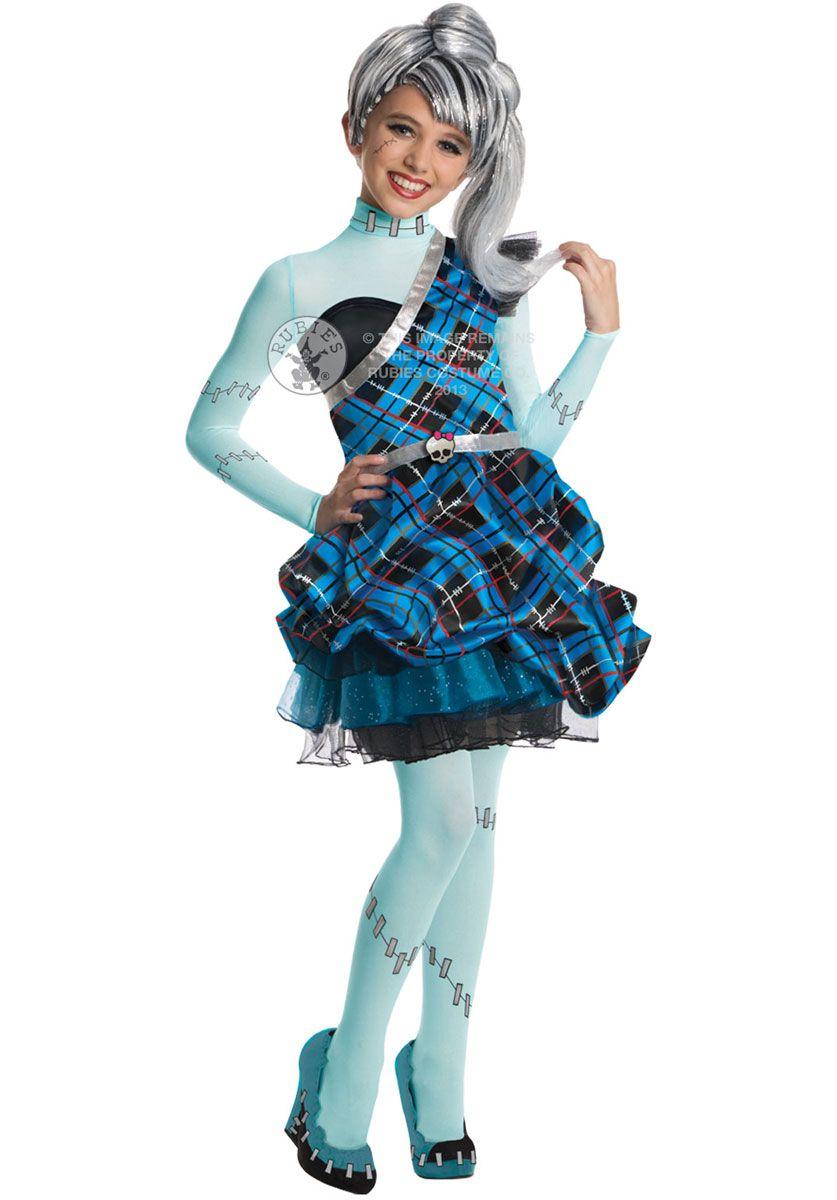 kids frankie stein monster high costume sweet 1600 - child halloween