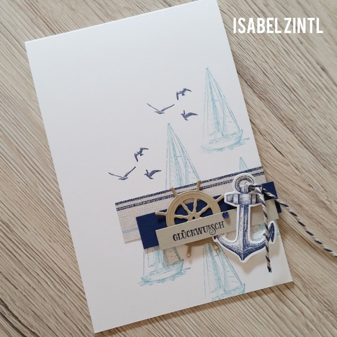 Photo of Aquarellhintergrund – Setz die Segel • StampinClub – Stampin' Up! Ideen mit …