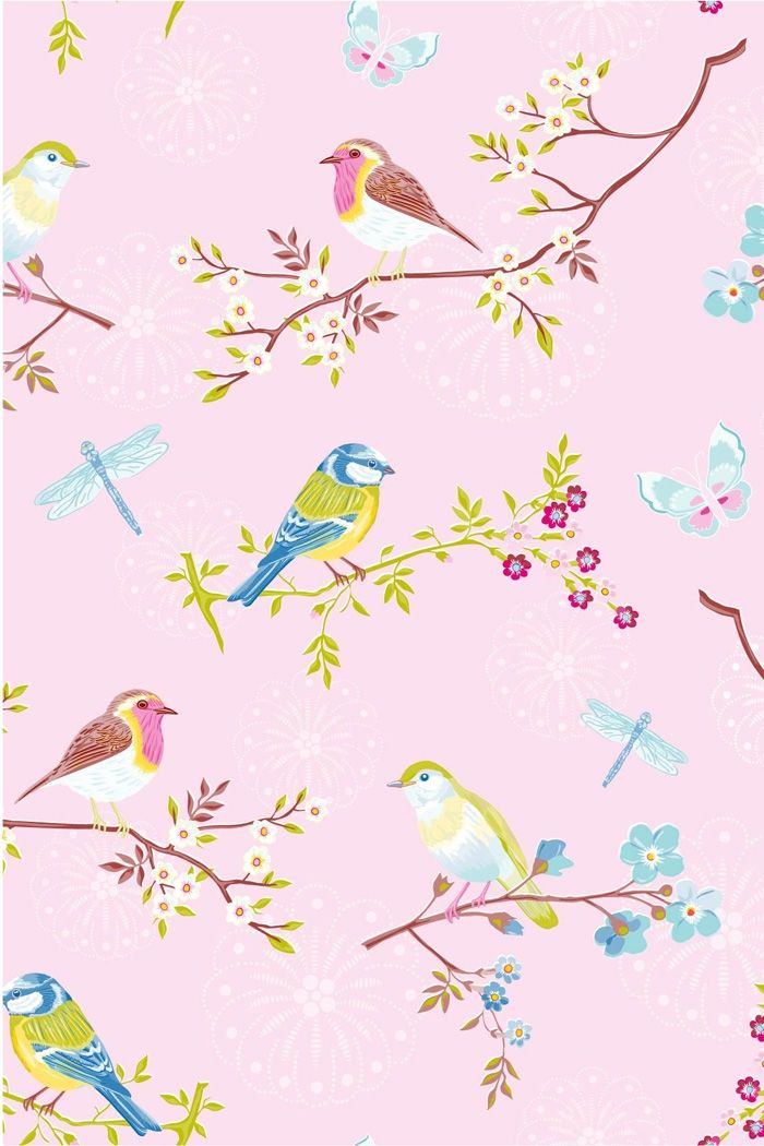 PiP Early Bird Pink Wallpaper | Don't grow up too soon my ...