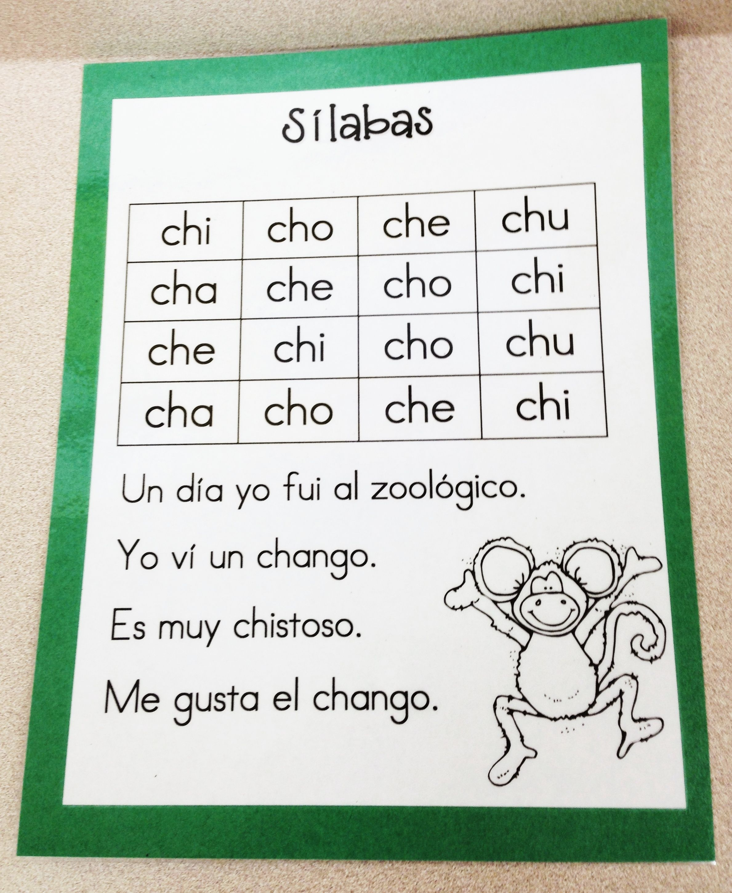Syllables Ch