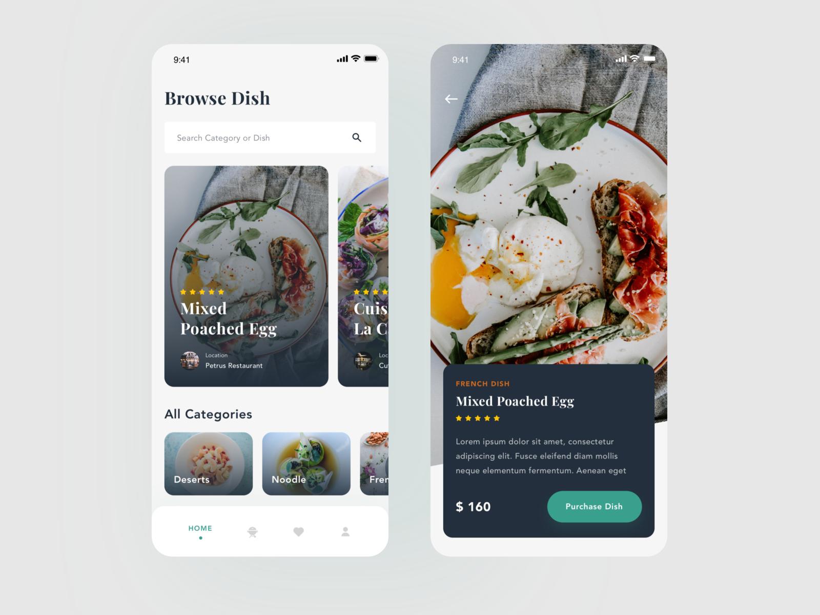 Restaurant App Exploration Restaurant app, App, Restaurant
