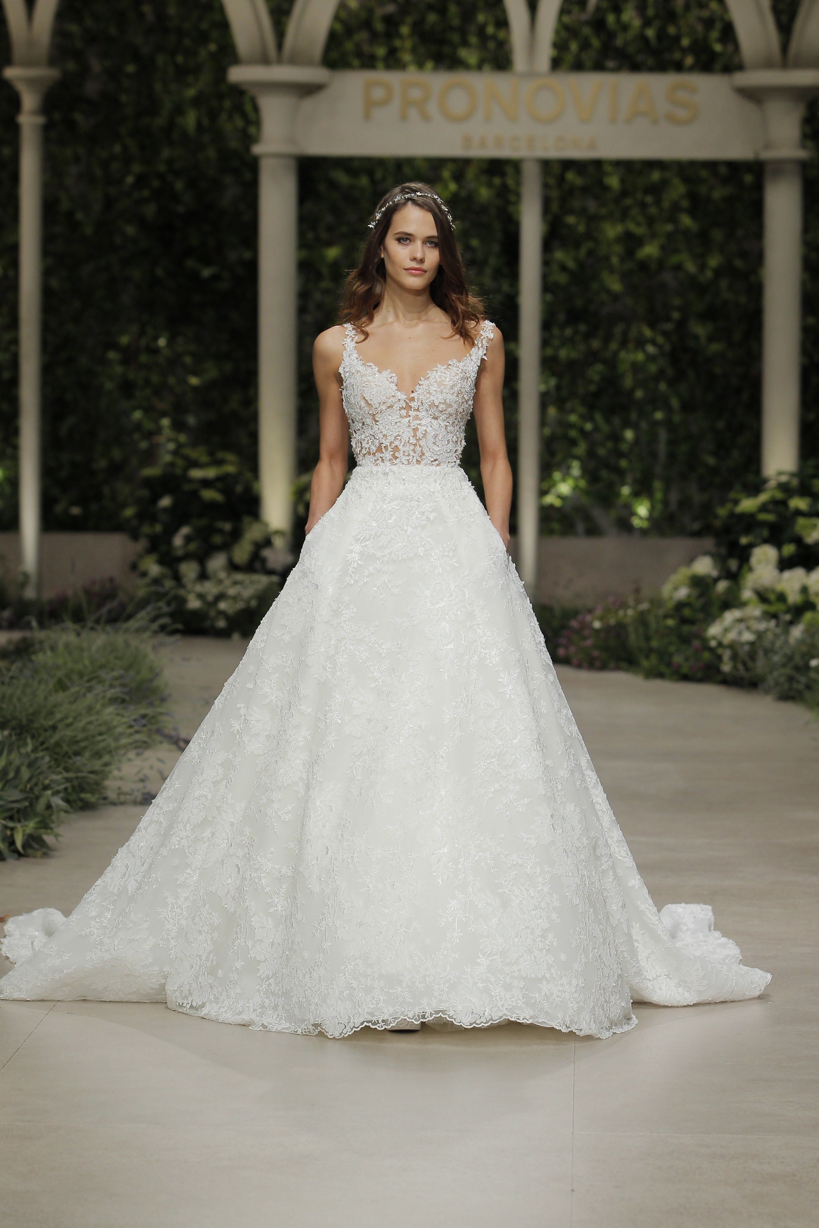 Watch Pronovias Spring 2019 Bridal Collection video