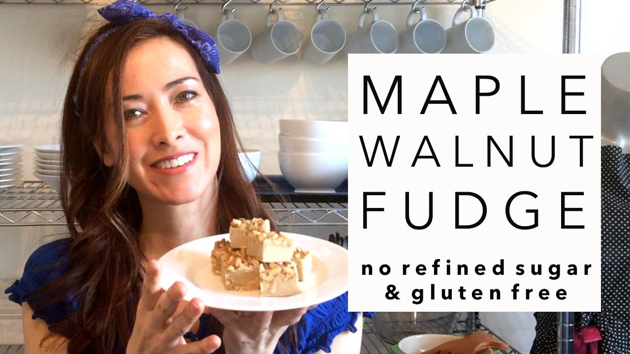 4f60a84ae1d Best Maple Fudge Recipe without Refined Sugar