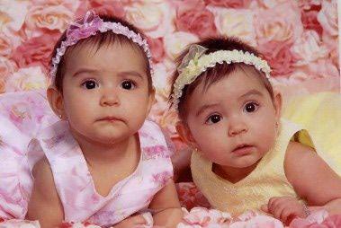 Newborn Twin Baby Girls Cute Twin Babies Girl 2013 Two Peas In A