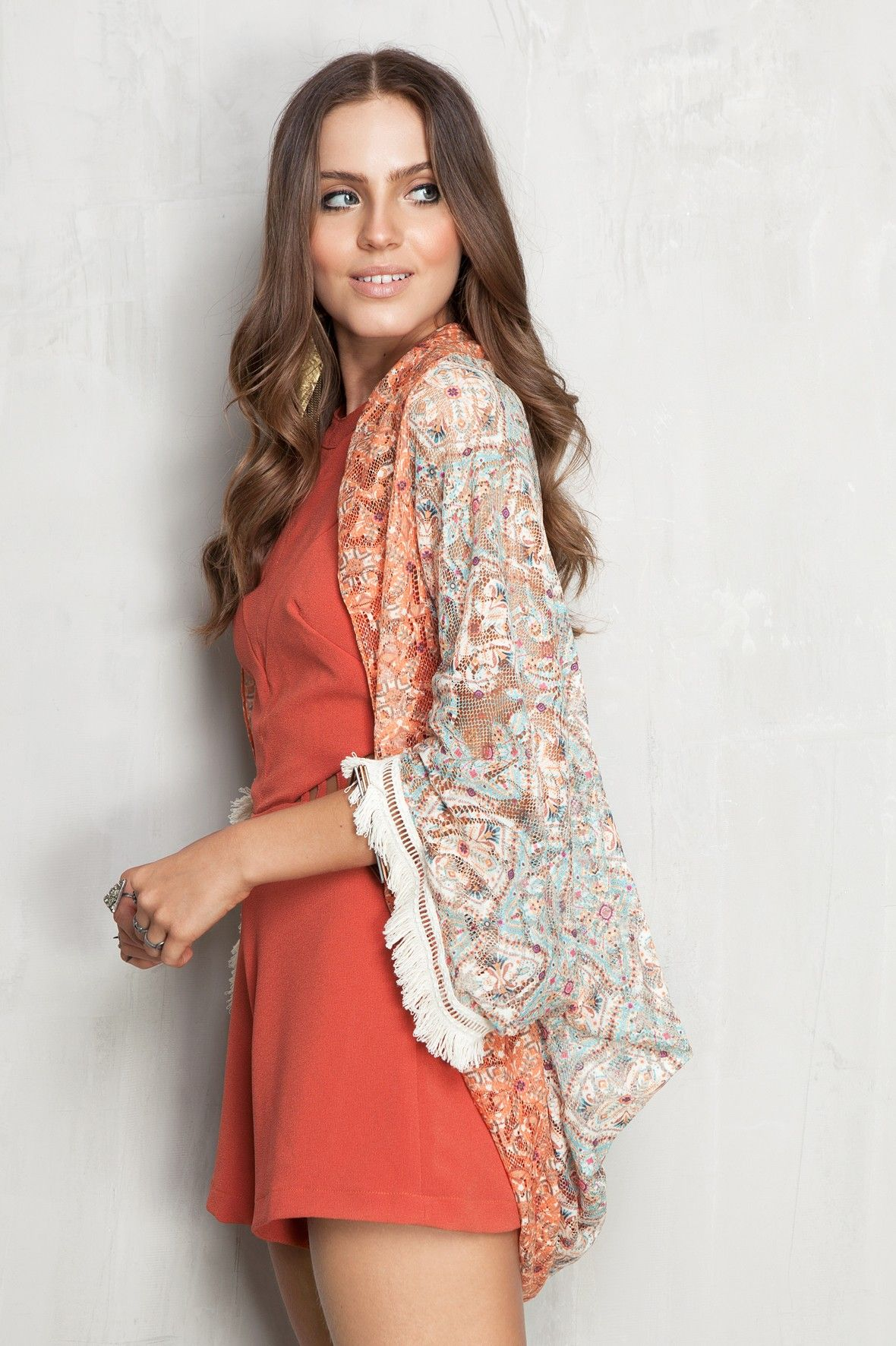 Lace dress bell sleeves june 2019 capão estampado lace  Dress to  cloth  Pinterest  Lace dress