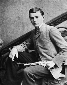 Robert Ford Outlaw   FORD OUTLAW JESSE JAMES GANG MURDERER TRAIN ROBBER GAMBLING 1872 PHOTO