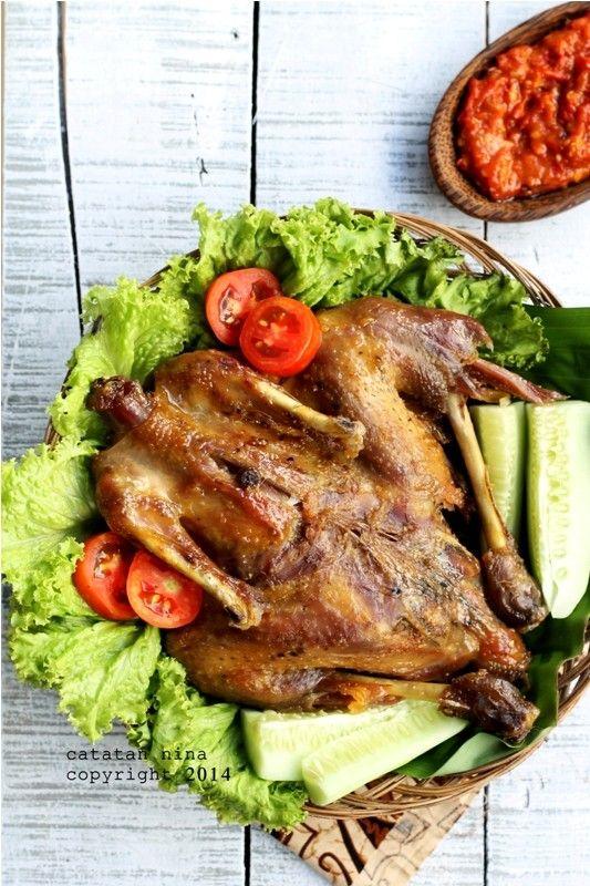 Catatan Nina Ayam Goreng Kalasan Makanan Dan Minuman Resep Ayam Makan Malam