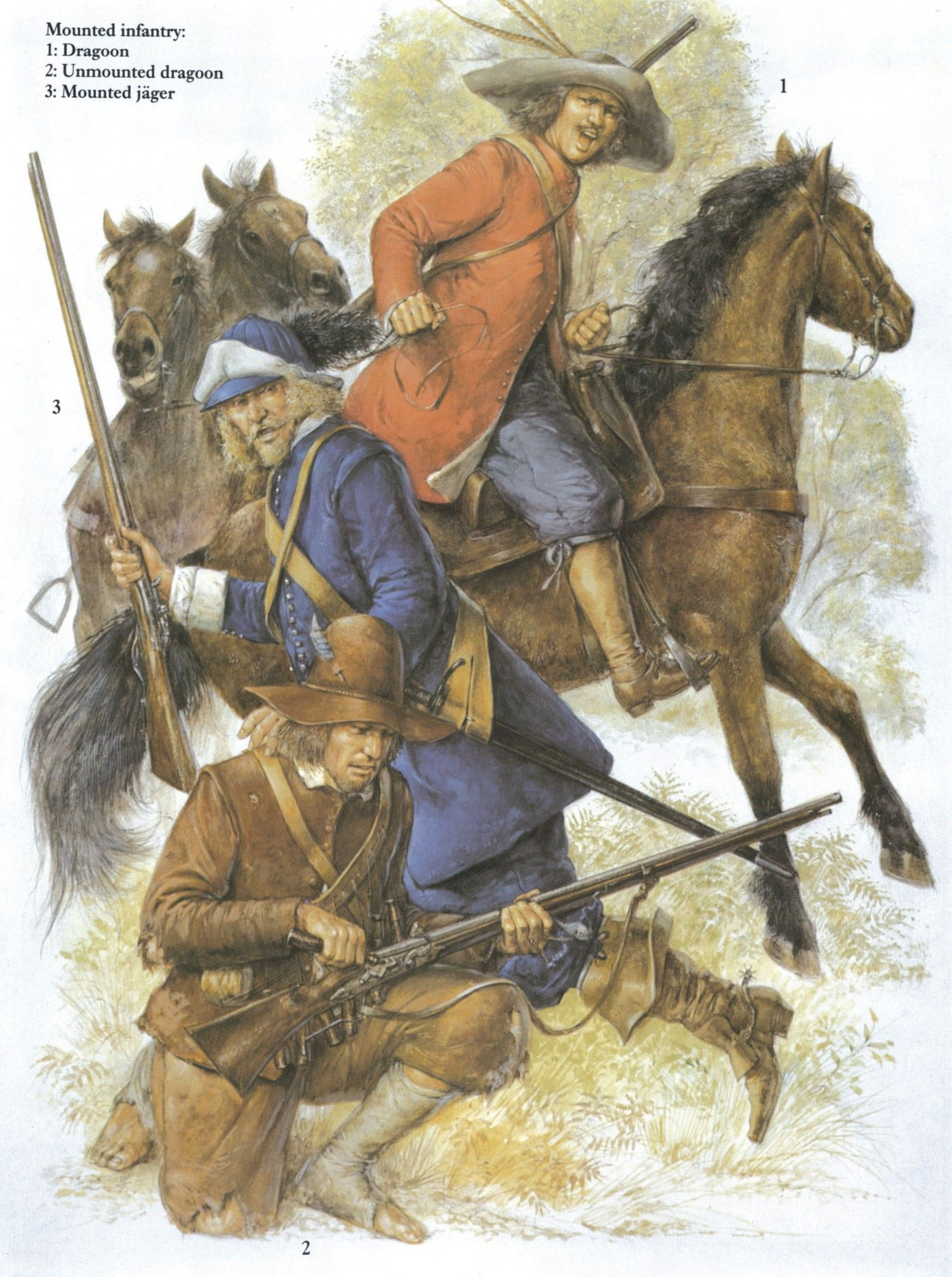 Swedish Mounted Infantry Thirty Years War