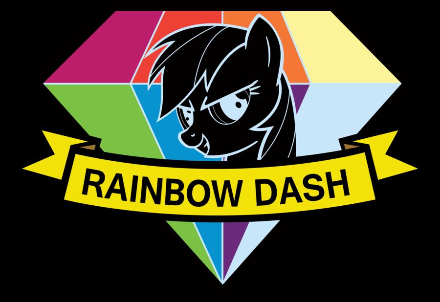 Resultado De Imagen Para Parche Rainbow Dash Rainbow Dash Metal Gear Solid My Little Pony