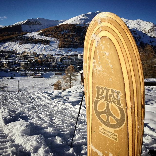 First run !!! #sestriere #plpcustomwoodypowderboards #plpcustompowderboards #snowsurf#snowsurfing #customboard #customsnowboards #powderboards#powdersnowboards #handmade #handcrafted #handpainted #madeinitaly#experimental #snowcraft #winter ‪#everydamnweekend‬‪ #whitexperience‬ ‪#sensacunisiunofficial‬ #surfshoppe