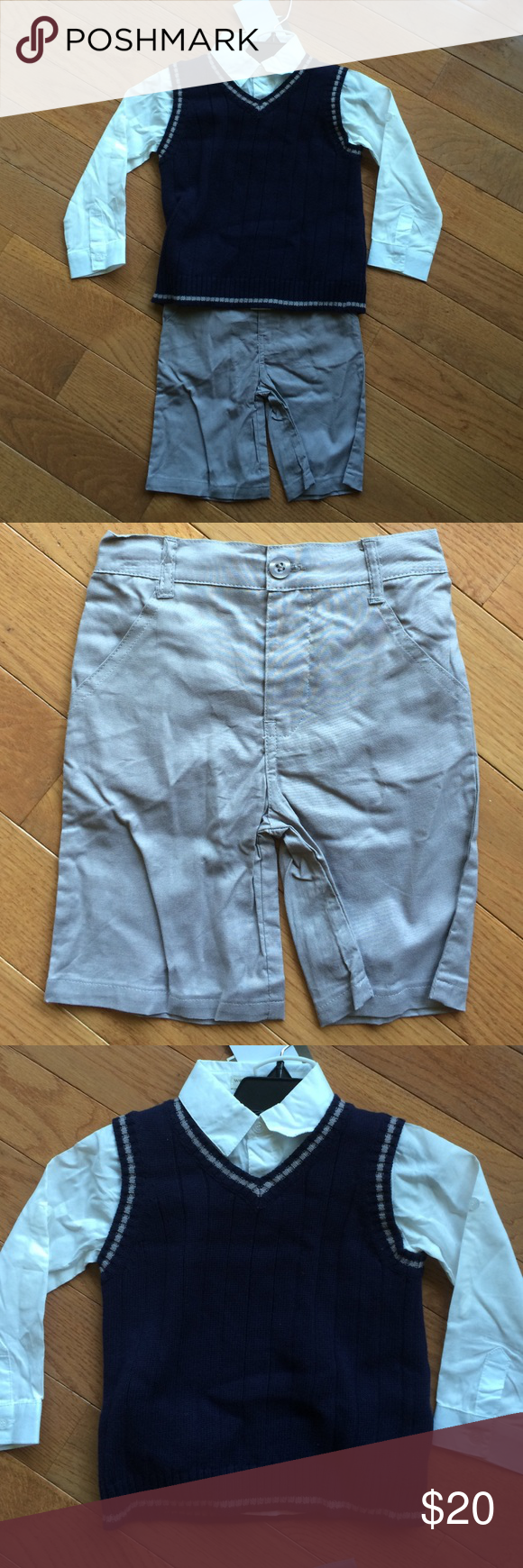 3 piece outfit. NWT | Shorts, D and Gray shorts