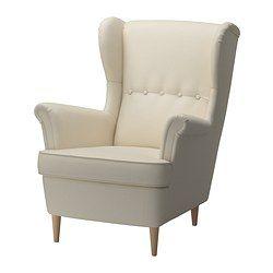strandmon fauteuil oreilles isefall cru ikea cadi re pinterest ikea fauteuils et. Black Bedroom Furniture Sets. Home Design Ideas