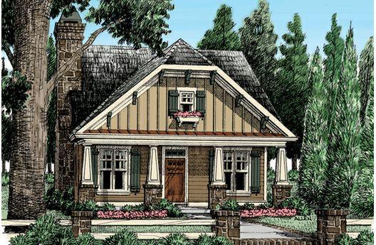 Elegant Front Entry Garage House Plans