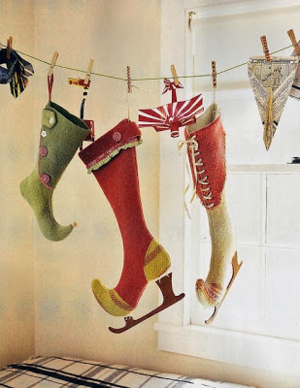 Fun Funky Christmas Stockings Felt Like It Christmas