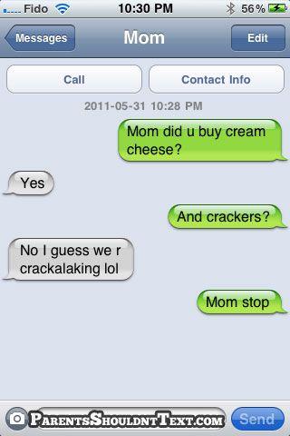 Parents Shouldn't Text »