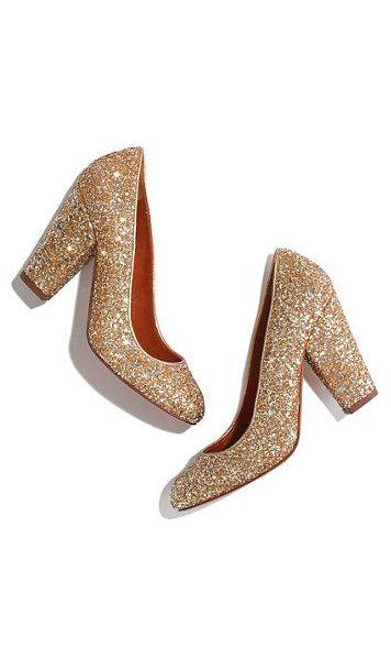 Glitter Pumps. Glitter Wedding ShoesGold ...