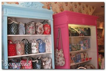 Cath Kidston... Everything I love in a designer!  She's my favorite, and not just because she's British!
