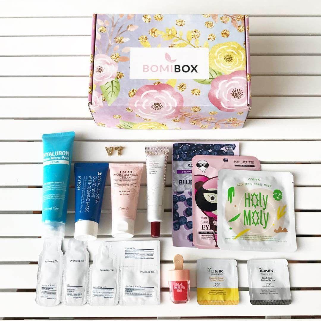 Bomibox Korean Beauty Box Skincare Beauty Box Korean Beauty Korean Skincare