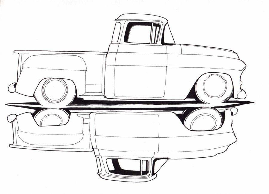 35++ Chevy truck coloring pictures ideas in 2021