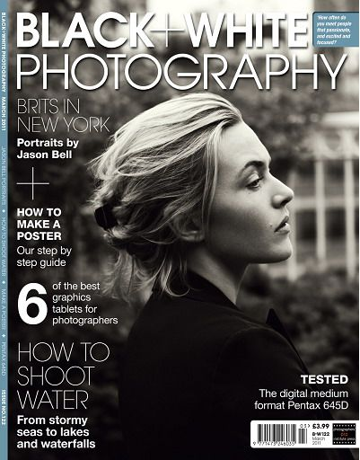 Black white photography magazine march 2011