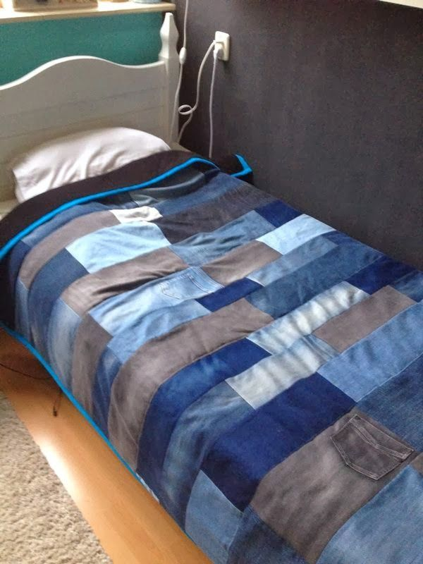 Imagen relacionada | Blue jean quilts, Recycle jeans, Old jeans