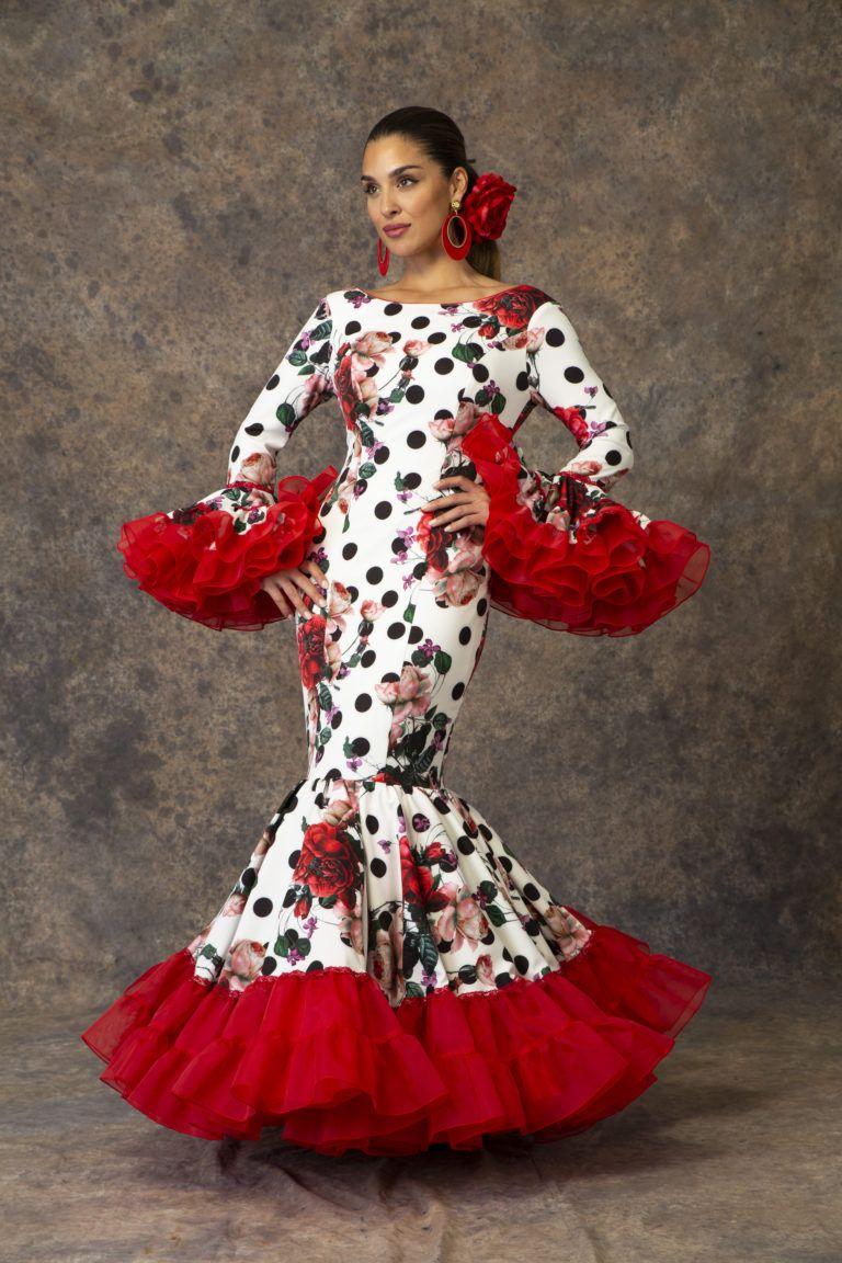 Traje De Flamenca De Aires De Feria 2019 Modelo Relente Vestido De Gitana Vestidos De Flamenca Trajes De Flamenco