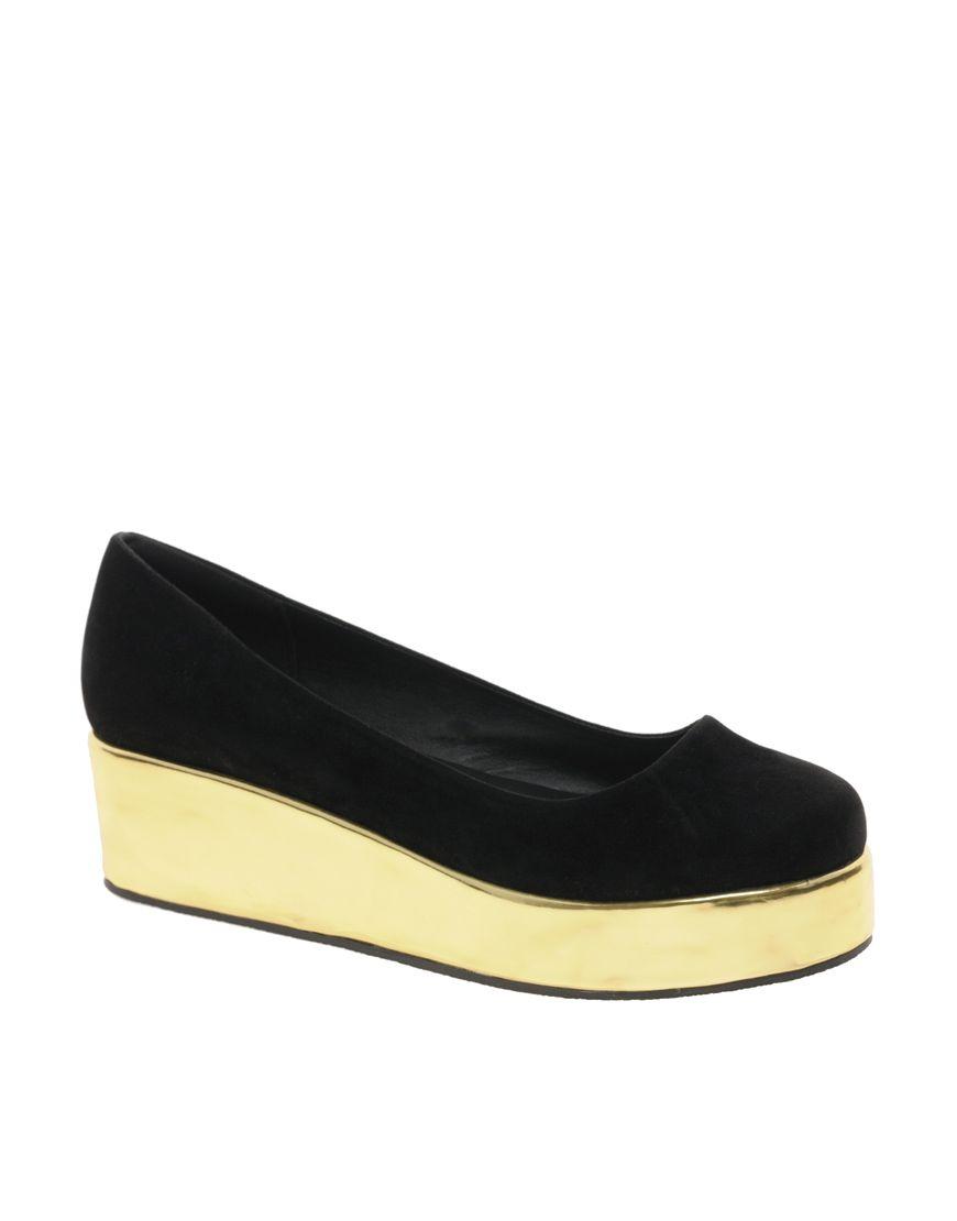 Platform ballet flats | Shoes, Only