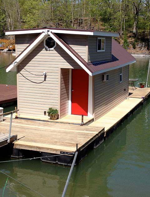 Karen Jenkins Tiny Floating Home Tiny House Vacation Floating