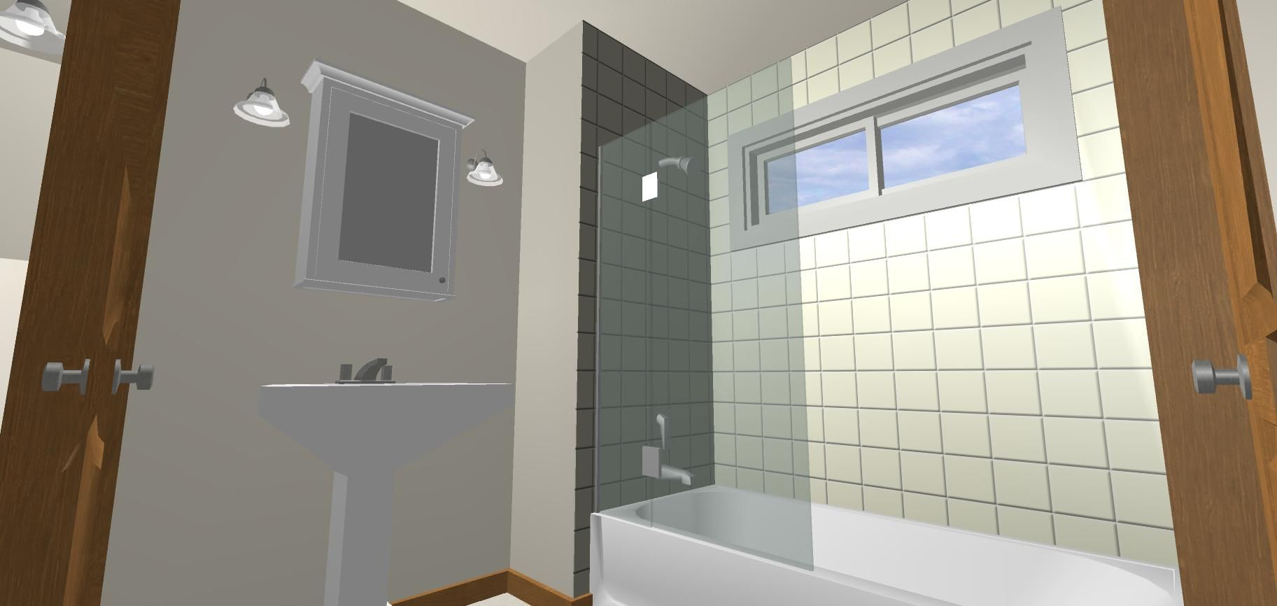 Vinyl walls for bathrooms - Window In Shower What Other Window Products No Vinyl Please Might Be Considered