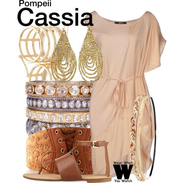Inspired by Emily Browning as Cassia in 2014's Pompeii.