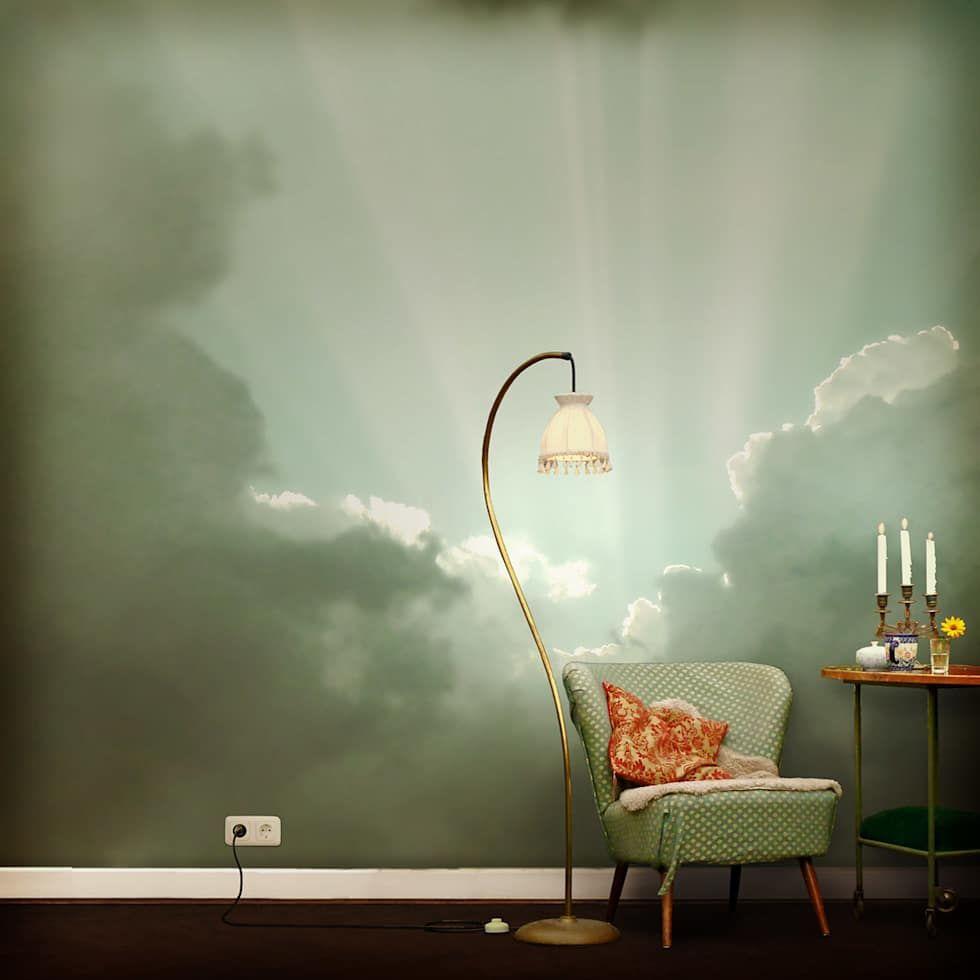 Wolken tapete w nde von gaedke tapeten in 2019 meran tapeten w nde und tapeten ideen - Ausgefallene wandbilder ...