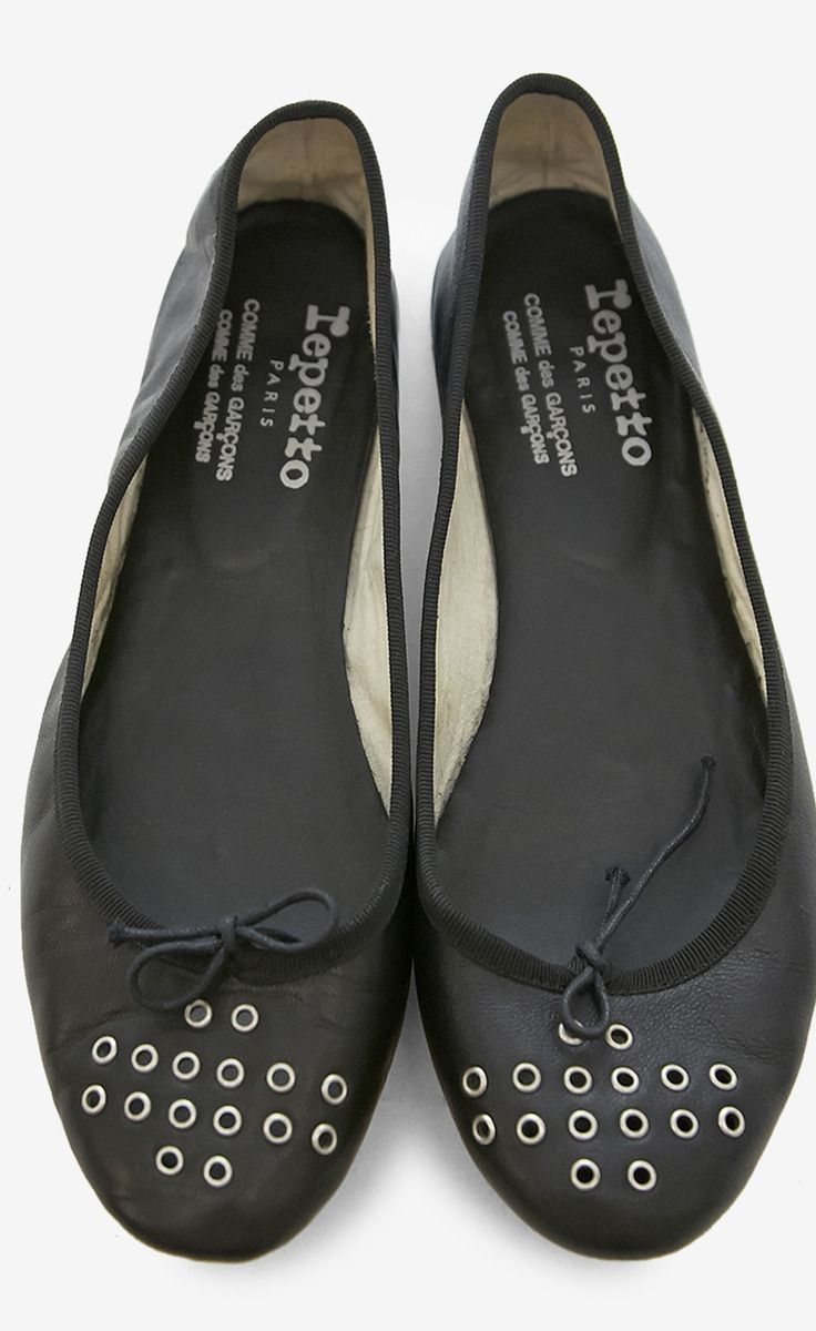 6a6f0f4d460 Repetto and Comme des Garcons Black Ballet Flat