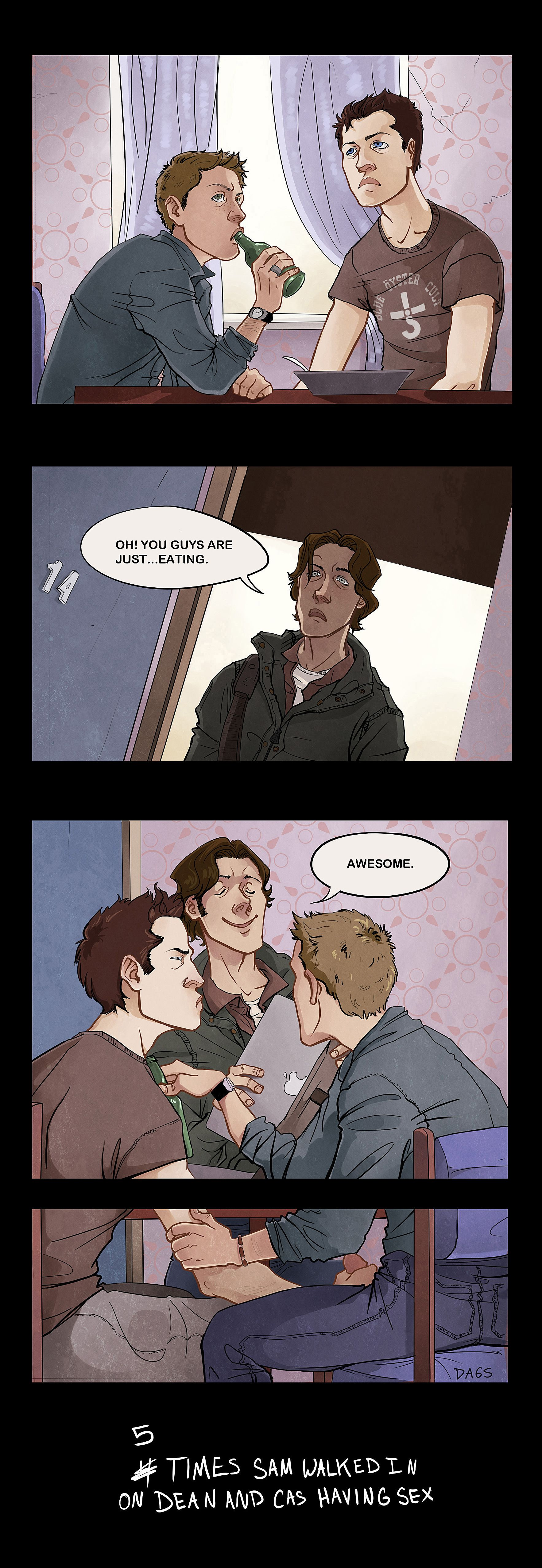 Supernatural gay comic geek