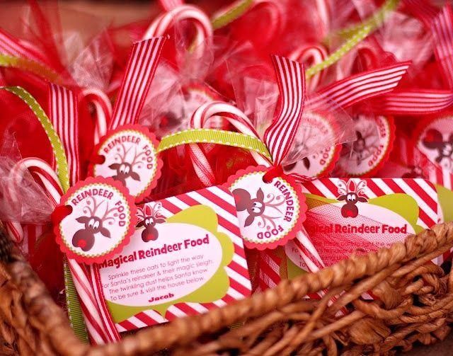 Reindeer Food Recipe Poem Tag Template