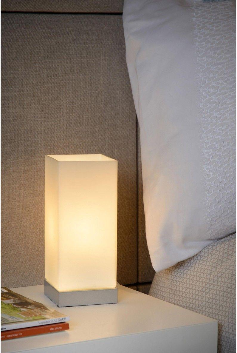 Lampe Verre Opalin Lucide Colour Touch Lampe De Chevet Lampe Lampes De Table