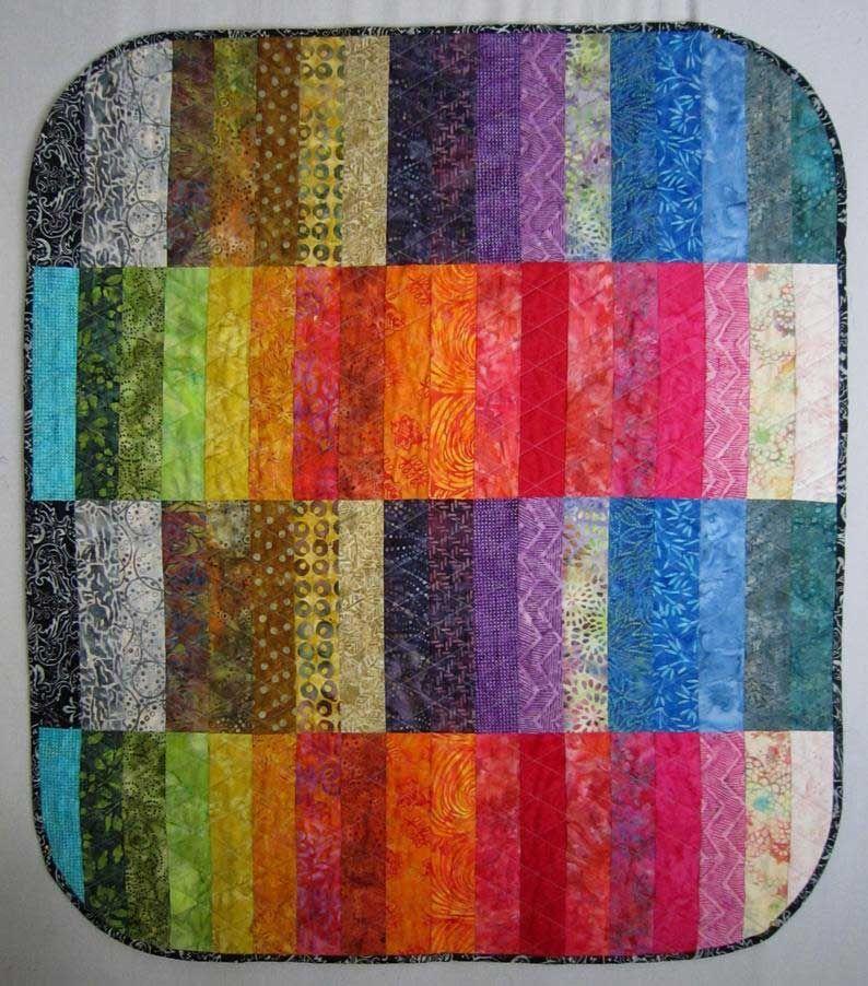 Modern Batik Quilts Ideas 08 From 25 Inspirational Modern