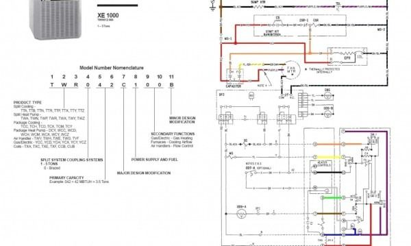 Trane Xe 1000 Heat Pump Wiring Diagram | Wiring Schematic ... on