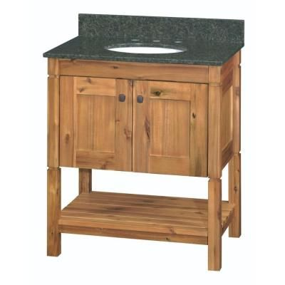 home decorators chirp bathroom vanity depot collection bath rustic natural granite top artisan