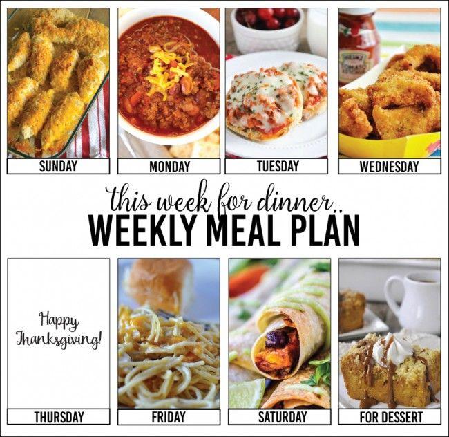 Weekly Meal Plan – Week Three #weeklymealprep