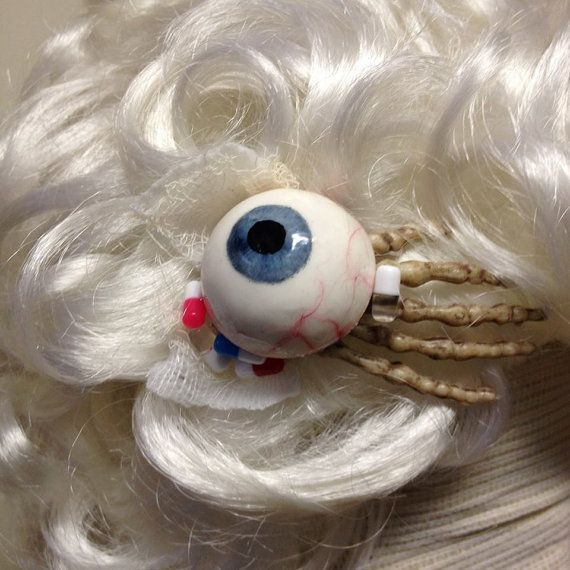 Medical dump Hairclips by SickNurse on Etsy