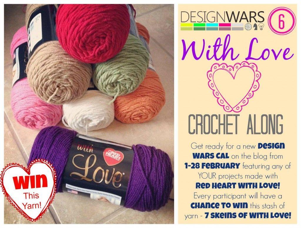 Design Wars 6 Crochet Along Red Heart Yarn Giveaway | Design Wars ...