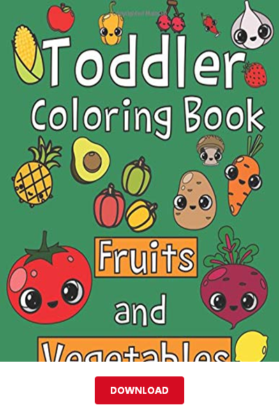 550+ Coloring Book Fruits And Vegetables Pdf Free