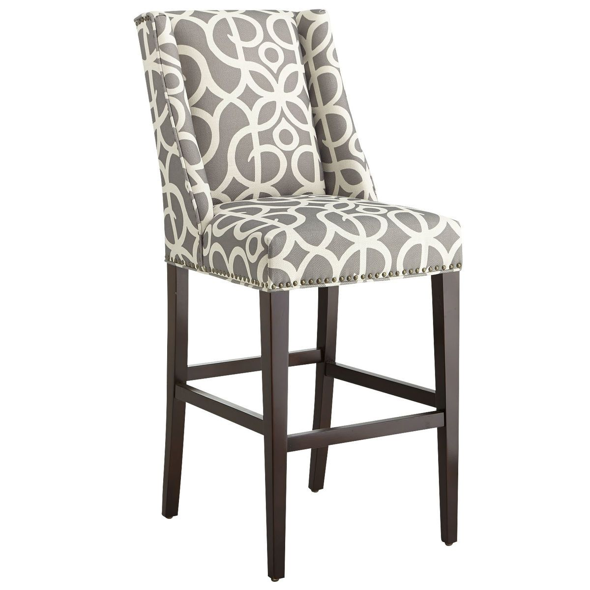 Terrific Owen Pewter Bar Counter Stool Pier 1 Imports Bar Cjindustries Chair Design For Home Cjindustriesco