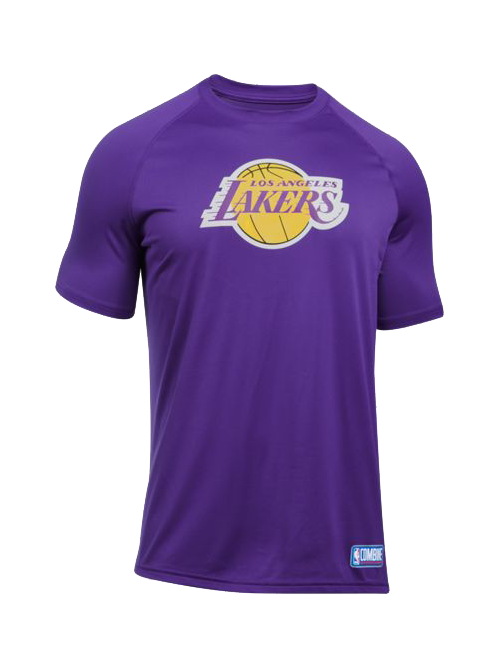 Los Angeles Lakers Primary Logo Tech T Shirt Lakers Store Tech T Shirts T Shirt
